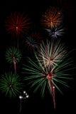 Indicador dos fogos-de-artifício Imagens de Stock Royalty Free