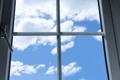 Indicador e céu azul imagens de stock royalty free