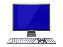 Indicador e teclado ilustração royalty free