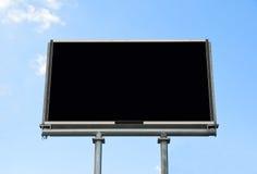 Indicador em branco do quadro de avisos Fotografia de Stock Royalty Free