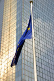 Indicador europeo Bruselas foto de archivo