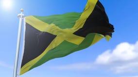 Indicador jamaicano almacen de metraje de vídeo