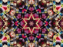 Indicador Kaleidoscopic do fio Foto de Stock
