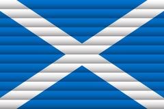 Indicador nacional de Escocia ilustración del vector