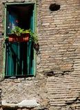 Indicador nas ruínas romanas Imagem de Stock Royalty Free