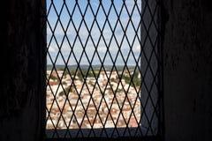 Indicador no castelo velho Imagem de Stock Royalty Free