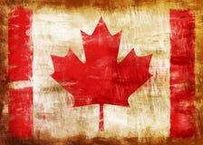 Indicador pintado viejo de Canadá stock de ilustración