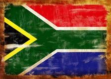 Indicador pintado viejo de Suráfrica stock de ilustración