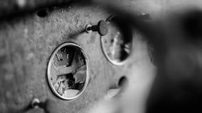 Indicador quebrado del gas Foto de archivo