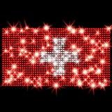 Indicador suizo en diamantes artificiales Fotos de archivo libres de regalías