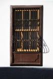 Indicador velho com barras Imagem de Stock Royalty Free