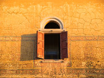 Indicador velho do palácio, India foto de stock