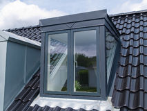 Indicador vertical moderno do telhado Fotografia de Stock Royalty Free