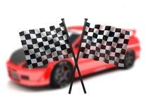 Indicador y coche libre illustration