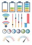 indicadores stock de ilustración