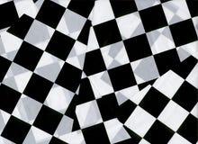 Indicadores Checkered Fotografía de archivo