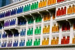Indicadores coloridos Fotografia de Stock