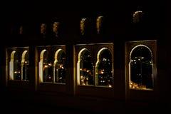 Indicadores de Alhambra em a noite Imagem de Stock Royalty Free