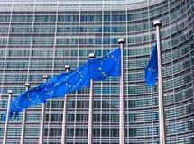 Indicadores de la unión europea Imagen de archivo