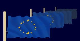 Indicadores de la unión europea libre illustration