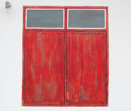 Indicadores de madeira fechados Imagens de Stock
