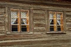 Indicadores de madeira velhos Imagens de Stock Royalty Free
