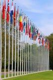 Indicadores de países europeos Fotos de archivo