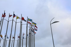 Indicadores de países europeos Imagen de archivo