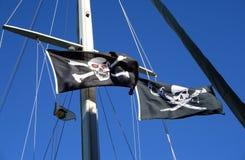 Indicadores de pirata fotografía de archivo