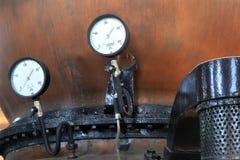 Indicadores de presión Foto de archivo