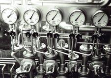 Indicadores de presión Fotos de archivo