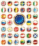 Indicadores del botón fijados europeos