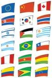 Indicadores del mundo libre illustration