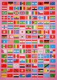 Indicadores del mundo Foto de archivo libre de regalías