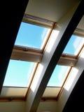 Indicadores do telhado Imagens de Stock Royalty Free
