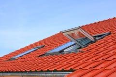 Indicadores do telhado Imagem de Stock Royalty Free