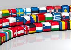 Indicadores europeos Fotos de archivo
