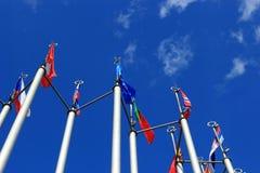 Indicadores europeos Imagenes de archivo