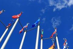 Indicadores europeos Foto de archivo libre de regalías