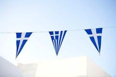 Indicadores griegos Foto de archivo libre de regalías