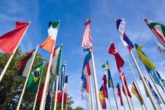 Indicadores internacionales Imágenes de archivo libres de regalías