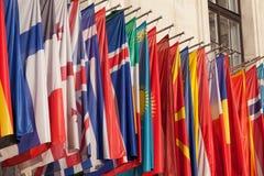 Indicadores internacionales Fotos de archivo libres de regalías