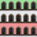 Indicadores italianos da fachada Imagem de Stock Royalty Free