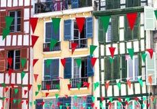 Indicadores para el festival augusto en Bayonne Imagen de archivo