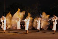 Indicadores que agitan Fotografía de archivo