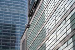 Indicadores refletindo do arranha-céus Fotografia de Stock