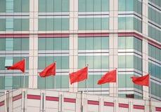 Indicadores rojos Fotografía de archivo