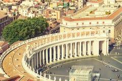 Indicadores velhos bonitos em Roma (Italy) Imagem de Stock Royalty Free