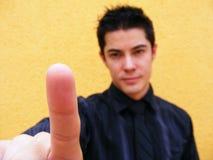 Indicar con el dedo Royalty Free Stock Image