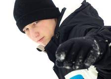 Indicare di inverno immagine stock